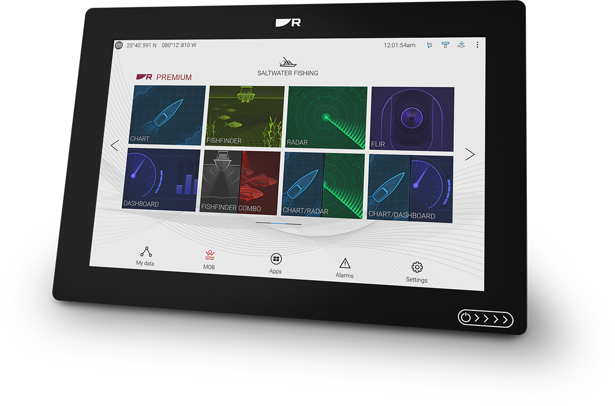 Axiom+ with New LightHouse 3 Day Viewing Mode | Marine Electronics by Raymarine