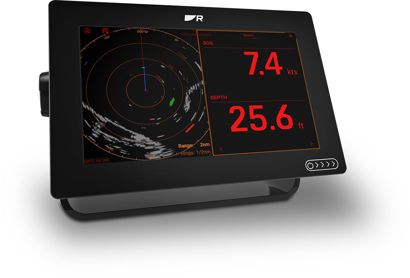 Axiom+ with New LightHouse 3 Night Viewing Mode | Marine Electronics by Raymarine