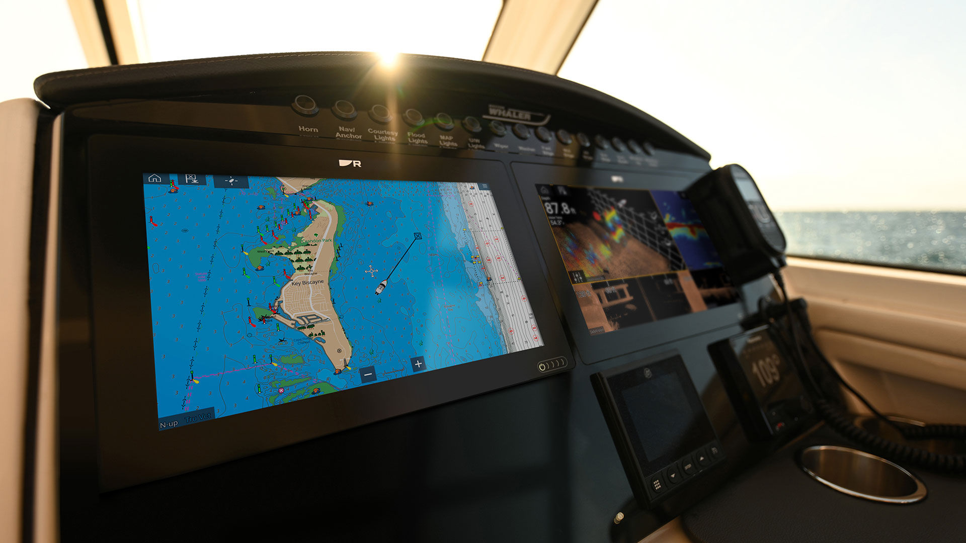 Axiom+ with Brighter Displays | Marine Electronics by Raymarine