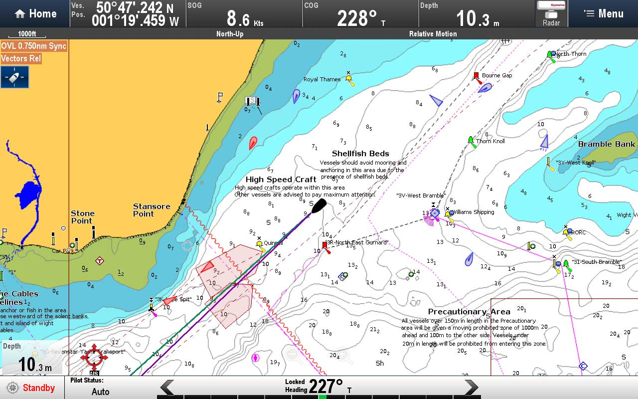 AIS Craft Types | Raymarine by FLIR