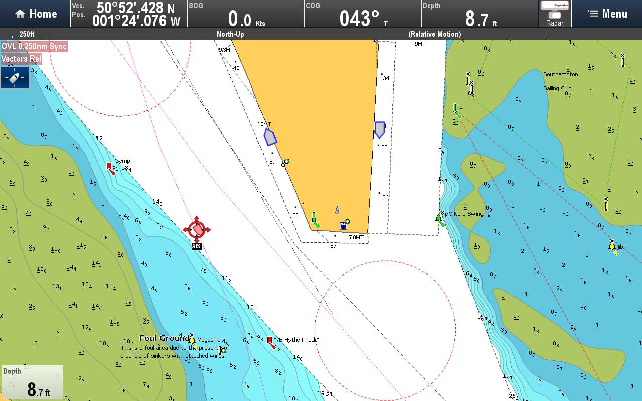 AIS In Use - Dock Head at Southampton | Raymarine by FLIR