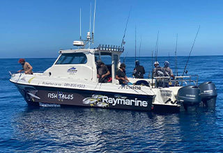 Fish Tales Charters | Marine Electronics by Raymarine