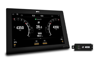 New Mercury VesselView for Axiom | Marine Electronics by Raymarine