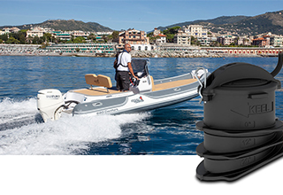 New Product: CPT-S In-Hull Transducer | Marine Electronics by Raymarine