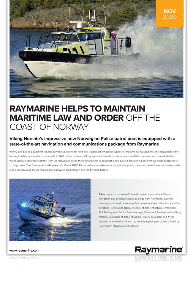 Download the full case study here | Marine Electronics by Raymarine