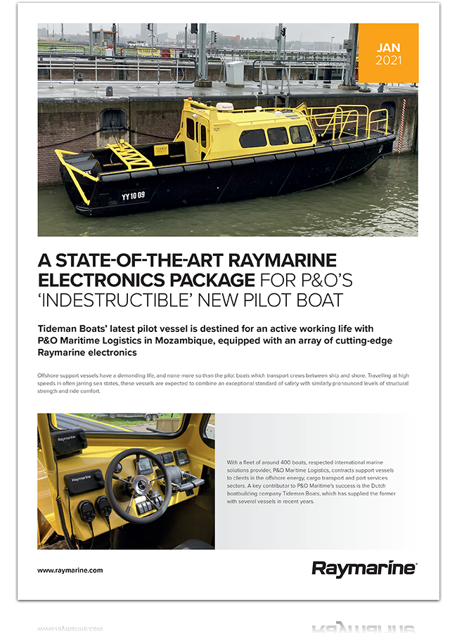 Download The Full Tideman Boat Case Study | Marine Electronics by Raymarine