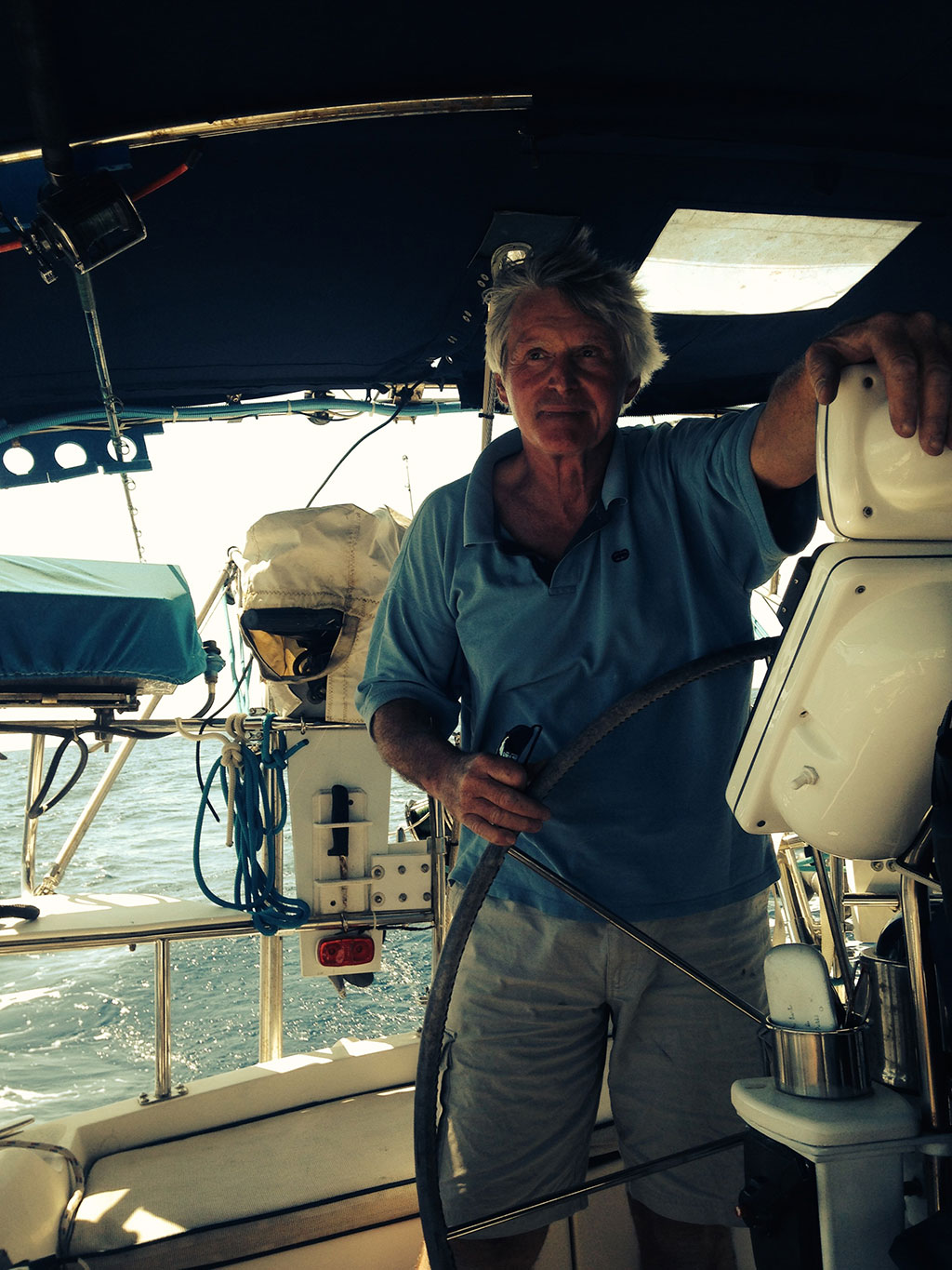 Barry Stedman, Owner S/V Imagine | Marine Electronics by Raymarine