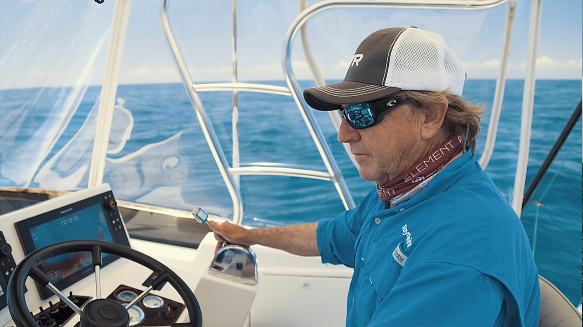 Certainly, Raymarine has helped us greatly there | Marine Electronics by Raymarine