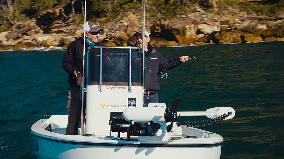 Bait fishing in the mornings | Marine Electronics by Raymarine