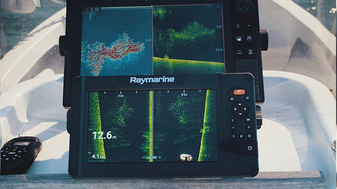 Thorrington's small boat runs three screens | Marine Electronics by Raymarine