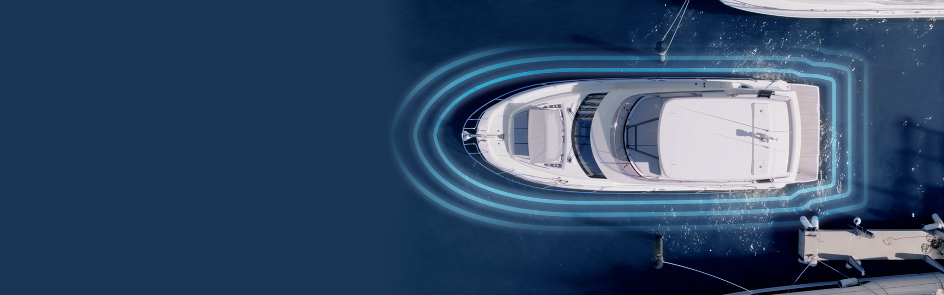 DockSense - Assisted Docking Technology | Marine Electronics by Raymarine