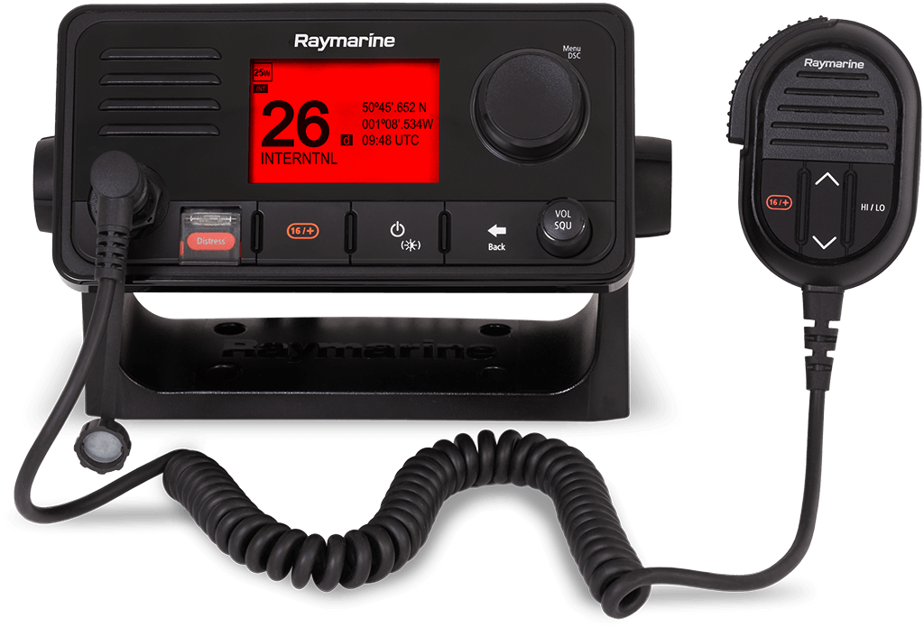 NEW Ray63 Multi- Station VHF Radio with GPS | Raymarine - A Brand by FLIR