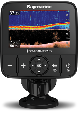 Buy Direct from Raymarine - Dragonfly 5PRO | Raymarine - A Brand by FLIR