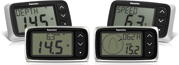 i40 Instrument Displays | Raymarine