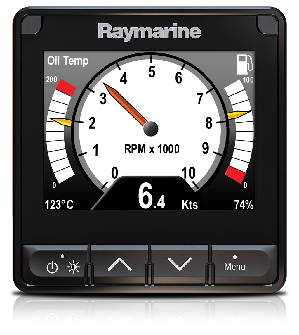 i70s Customised Screens - Engine Data | Raymarine by FLIR