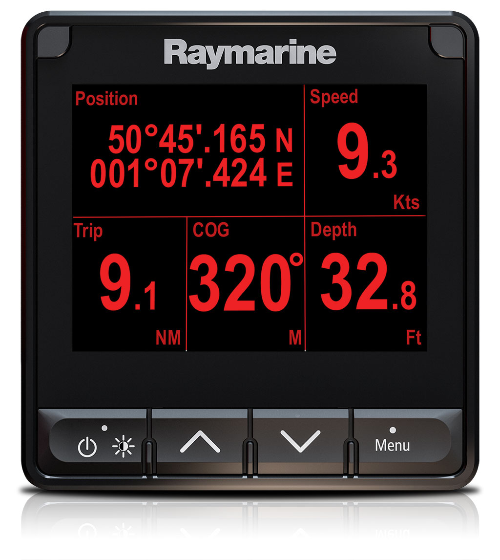 i70s Customised Screens - Analogue and Digital Data | Raymarine by FLIR