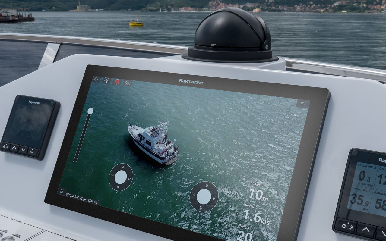Axiom UAV - Birds Eye View | Raymarine - A Brand by FLIR