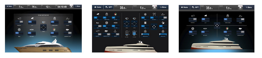 Download Digital Switching Screen Captures | Raymarine