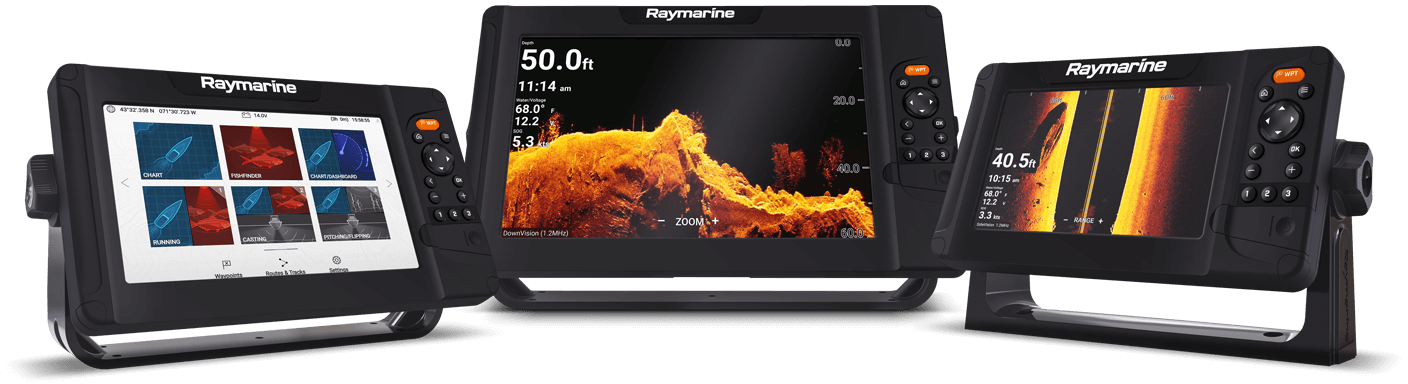 NYTT Element – Ekolod GPS Multifunktionsdisplay | Raymarine by FLIR