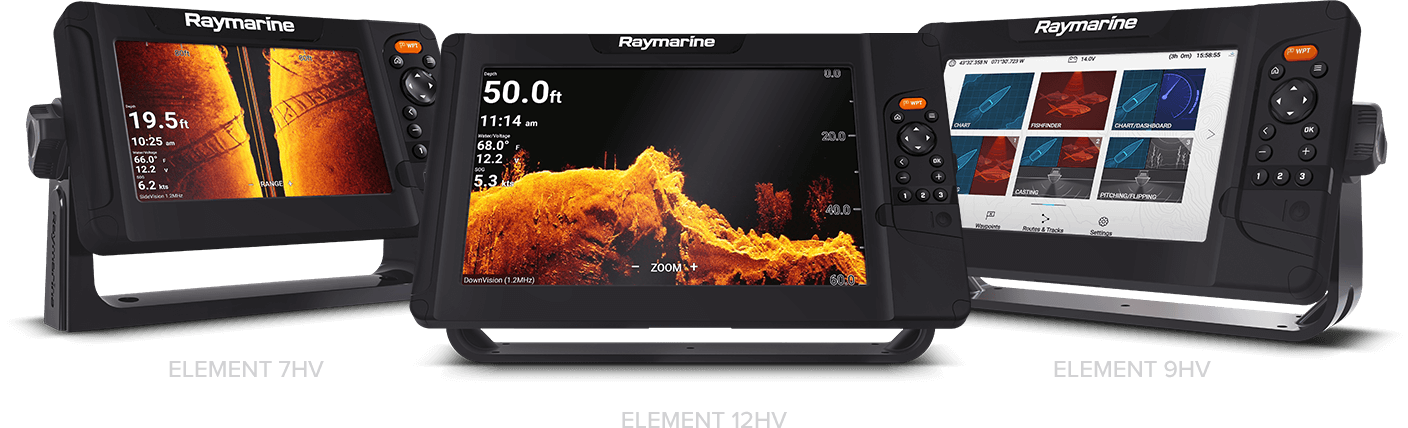 Element - Available in 7, 9 and 12 Inch Screen Sizes | Raymarine - A Brand by FLIR