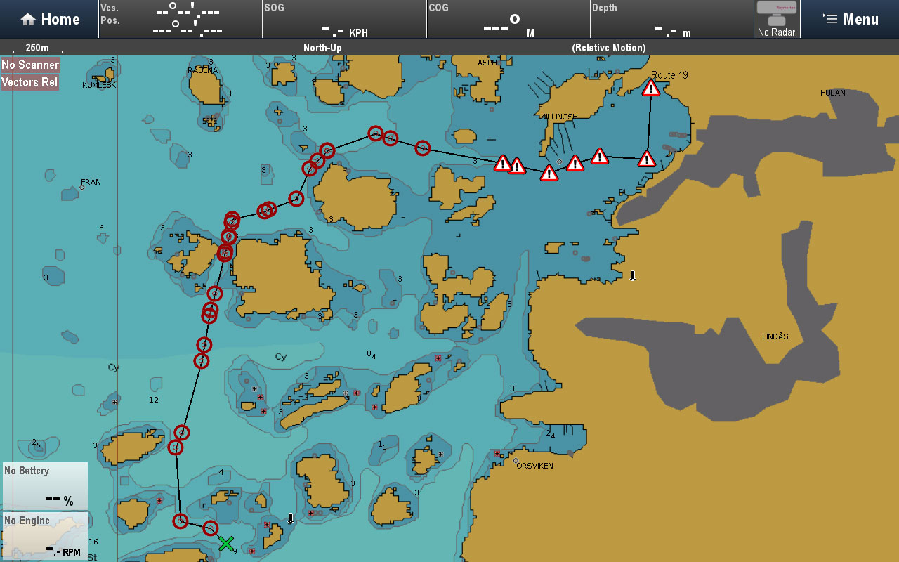 Routes along Fairways | Raymarine by FLIR