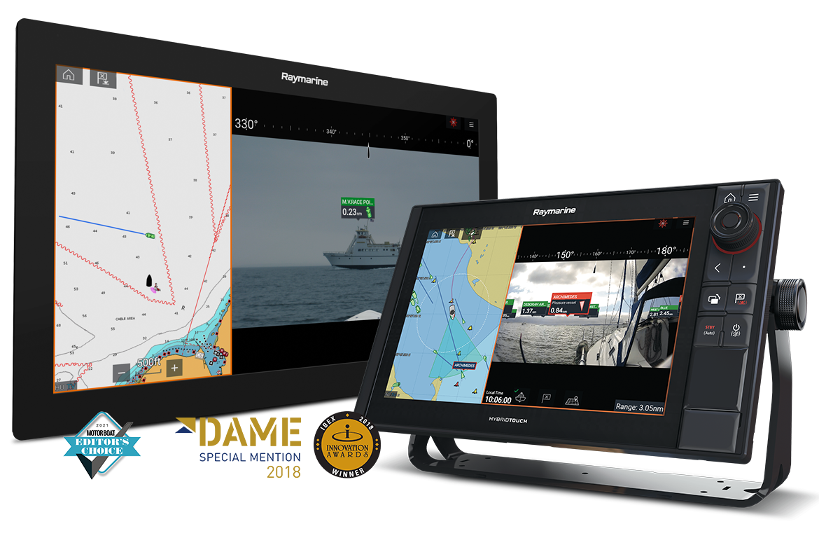 NEW LightHouse 3.7 - Clear Cruise Augmented Reality (AR) | Raymarine - A Brand by FLIR