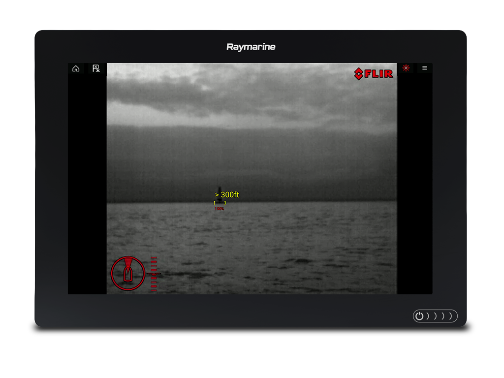 LightHouse 3.7 - ClearCruise IR Analytics Target Range Display | Raymarine - A Brand by FLIR
