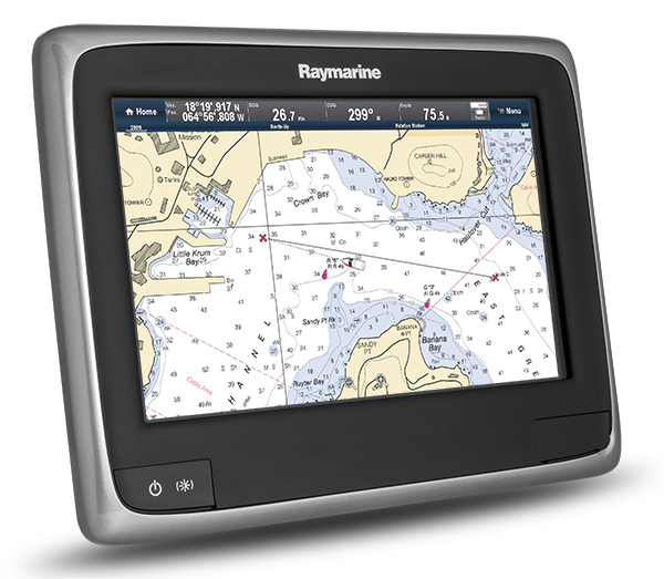 a9 with LightHouse Chart | Raymarine