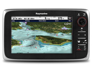 cSeries Cartography Options | Raymarine