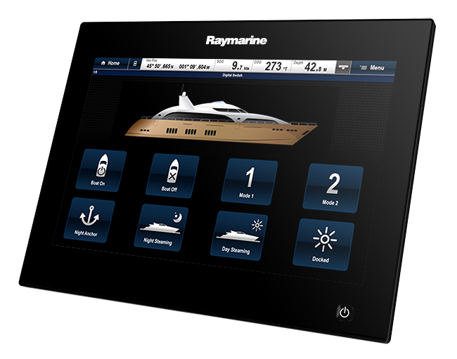 Digital Switching on gS Series | Raymarine