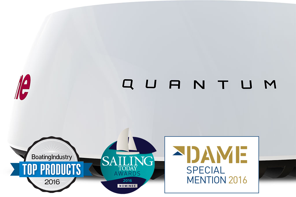 NEW Quantum Radar with CHIRP Pulse Compression | Raymarine