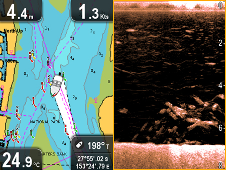 April Screen Capture Winner | Raymarine