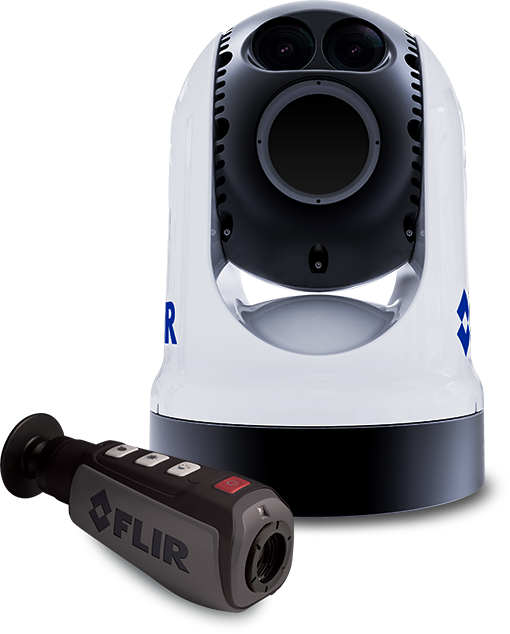 Marine Electronics for First Responders - FLIR Thermal Night Vision | Raymarine - A Brand by FLIR