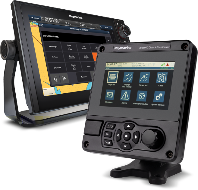 NEW AIS5000 - Transceiver for Maritime First Responders | Raymarine - A Brand by FLIR