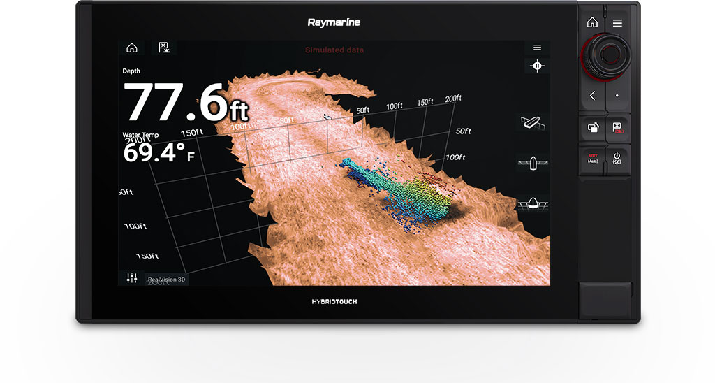 Axiom Pro 16 - 3D and 1KW Sonar | Raymarine by FLIR