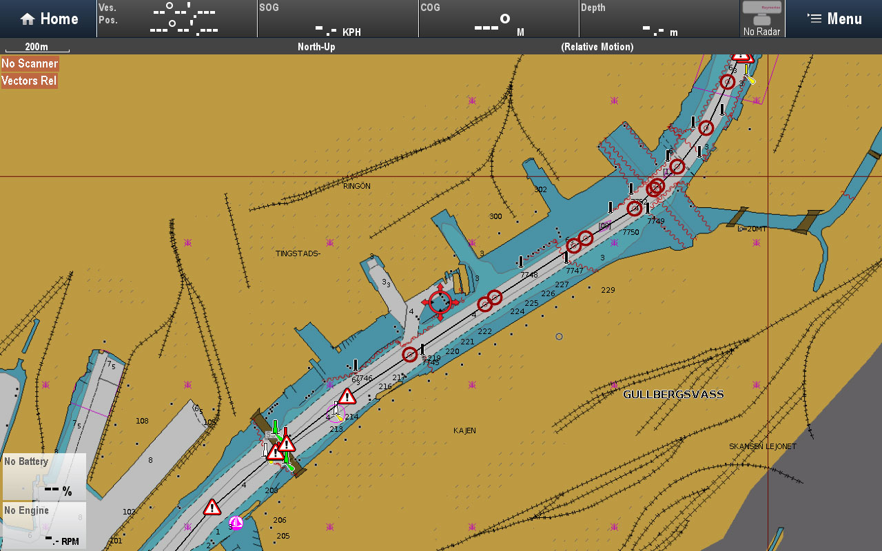 Accounts for channel markers and bouys | Raymarine by FLIR