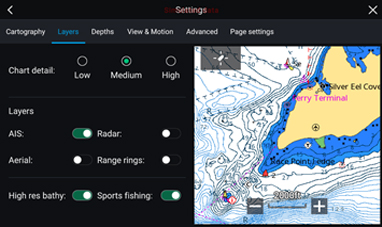 LightHouse 3.2 - C-MAP Active Captain | Raymarine van FLIR