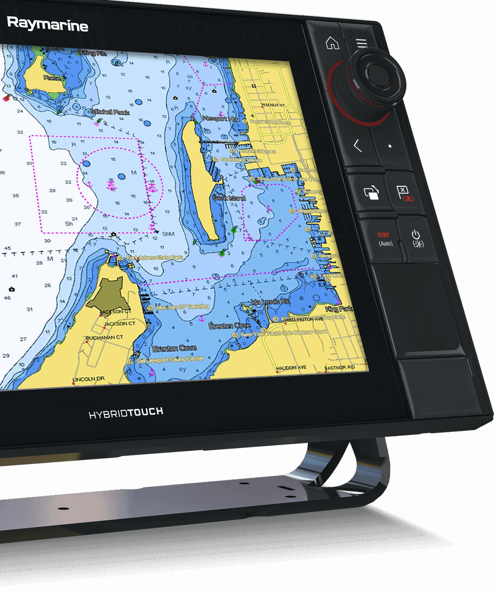 LightHouse 3.2 - C-MAP-integratie | Raymarine van FLIR