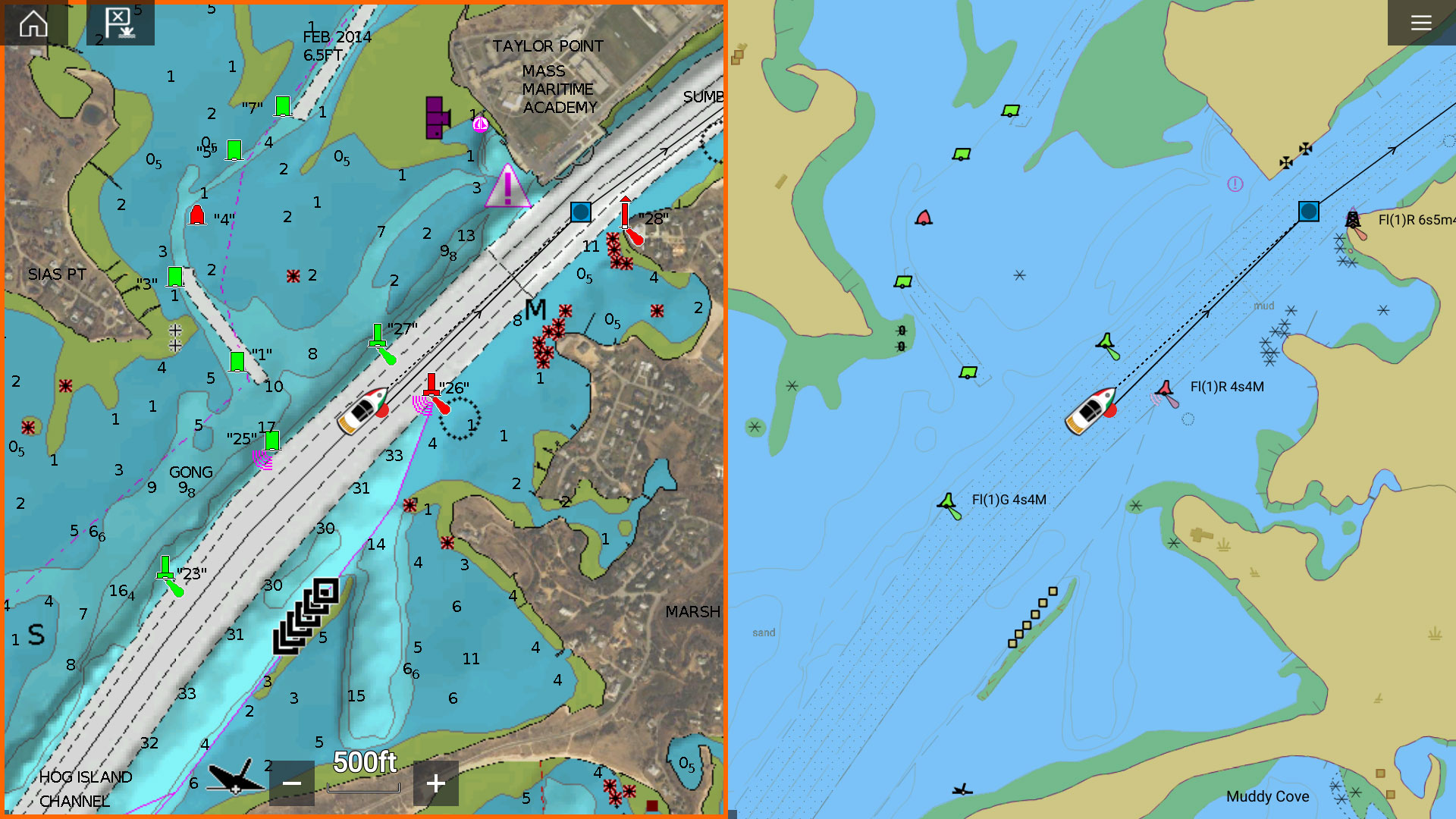 LightHouse 3.8 Software Update - Electronic Chart Synchronization | Raymarine - A Brand by FLIR